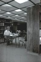 Original Library and Media Center Located in the Technology Building, Redwood Campus