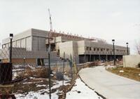 Construction of the Lifetime Activities Center Winter 1995