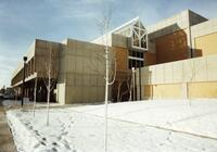 North Side of Lifetime Activities Center in the Winter