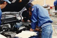 Students Studying in the Automotive Technician Program