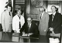 Utah Technical College Staff and Students Attend a Bill Signing