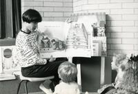 Teacher Reading to Children at the Eccles Early Childhood Development Lab School