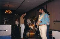 Country Band Playing During a College Event