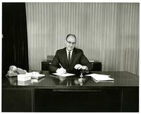 Carnahan with Governor Bangerter, likely when UTC was officially renamed SLCC, View 2.
