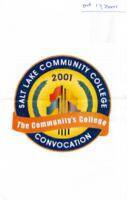 2001 Fall Convocation