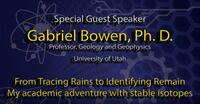2019 - From Tracing Rains to Identifying Remain, My academic adventure with stable isotopes - Oral Presentation