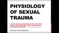 2016 - Physiology of Sexual Trauma - Oral Presentation