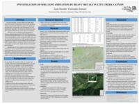 2018 - Investigation of Soil Contamination by Heavy Metals in City Creek Canyon - Poster Presentation