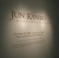 """Jun Kaneko: """"...the issue of scale is one thing you cannot avoid."""""""