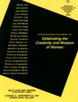 Celebrating the Creativity and Wisdom of Women: 9th Biennial Utah Women Artists' Exhibition 1997